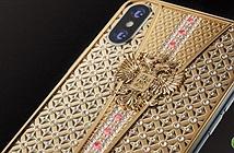 Tận mắt iPhone X Imperial Crown gắn 344 viên kim cương tiền tỷ