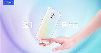 Vivo S1 Pro cụm 4 camera hình kim cương, từ 315 USD