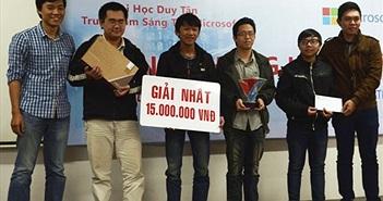 Sinh viên Đà Nẵng sáng tạo nhiều phần mềm có tính ứng dụng cao