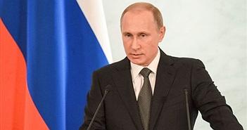Putin: Không ai có thể vượt trội ưu thế quân sự của Nga
