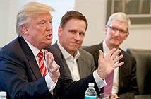 CEO Apple Cook giải thích lí do tới Hội nghị công nghệ của ông Donald Trump