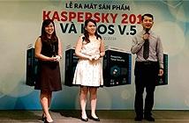 Kaspersky ra mắt các sản phẩm mới 2017