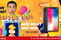 """Clip TV mừng sinh nhật bằng """"đại tiệc"""" iPhone X và TV 49 inches"""