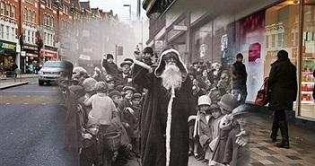 Lạnh gáy loạt ảnh ám ảnh về Giáng sinh ở London những năm 1930
