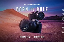 Canon EOS R6, máy ảnh không gương lật tốt nhất của Canon ?