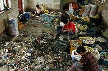 Nghề tái chế chất thải ô nhiễm ở Trung Quốc