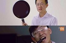 Xiaomi quảng cáo Mi Note bằng cách đập camera lồi iPhone 6 Plus