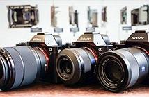 Máy ảnh mirrorless Sony A7 giảm giá cả chục triệu