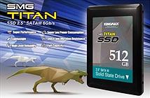 SMG Titan SSD chịu lực va đập đến 1.500G/s