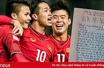 Dân mạng chia sẻ đơn xin nghỉ học chiều 23/1 để xem U23 Việt Nam