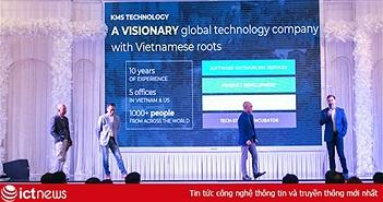 KMS Technology muốn mở rộng kinh doanh ra châu Á