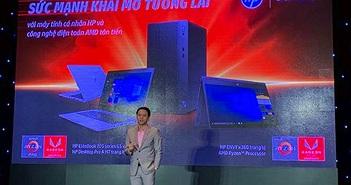 HP Việt Nam giới thiệu loạt máy tính cá nhân trang bị chip AMD Ryzen giá từ 8,39 triệu đồng