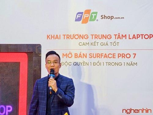 FPT Shop khai trương 68 Trung tâm trải nghiệm laptop, mở bán Surface Pro 7 siêu bảo hành