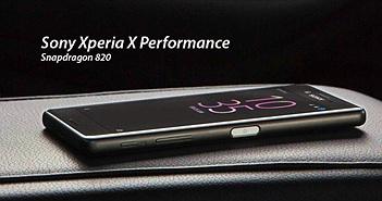 """[MWC 2016] Sony Xperia X Performance: màn hình 5"""" Full HD, Snapdragon 820, vỏ kim loại"""