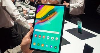 Cận cảnh tablet mỏng nhẹ Samsung Galaxy Tab S5e