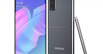 Đến phiên ý tưởng Galaxy Note20 phô diễn làm điên đảo Samfan