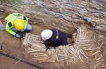 Phát hiện bức tường xương người 500 năm tuổi