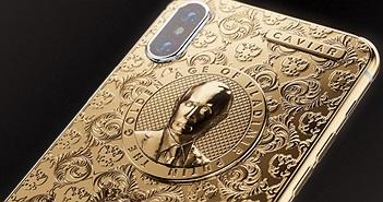 Mừng Putin tái đắc cử, Caviar lại tung ra một chiếc iPhone X bằng vàng ròng mới