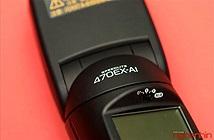 Mở hộp đèn flash thông minh Canon 470EX-AI