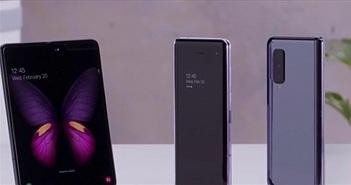 NÓNG: Rò rỉ video trên tay Galaxy Fold từ Việt Nam