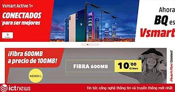 Smartphone của tỷ phú Phạm Nhật Vượng đã bán qua website của nhà bán lẻ điện tử tiêu dùng hàng đầu châu Âu MediaMarkt