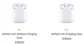 """Tim Cook quá """"cáo già"""" khi bán lẻ case sạc không dây AirPods mới 79 USD"""