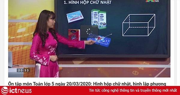 Địa chỉ học trực tuyến trên kênh Hà Nội 2 dành cho các khối lớp