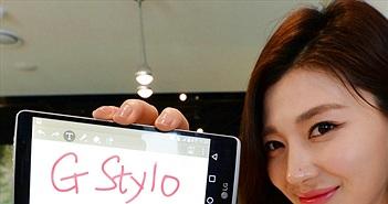 LG ra mắt smartphone tầm trung hỗ trợ bút cảm ứng G Stylo