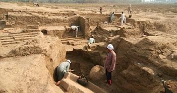 Ai Cập phát hiện phế tích tường thành của cố đô Memphis