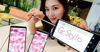 LG trình làng G Stylo với bút cảm ứng, hỗ trợ thẻ nhớ 2TB
