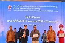 Tháng 11/2016 sẽ trao Giải thưởng ICT ASEAN