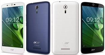 Acer Liquid Zest Plus với viên pin 5000mAh, cấu hình tầm trung, giá 5,5 triệu đồng