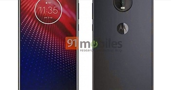 Moto Z4 lộ cấu hình, camera sau 48MP