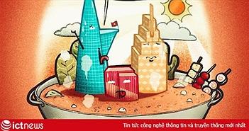 Ảnh chế 'thay lời muốn nói' cho mùa nắng nóng ở Sài Gòn