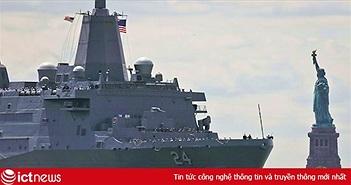 Phát hiện camera quay lén phòng tắm nữ trên tàu đổ bộ USS Arlington của Mỹ