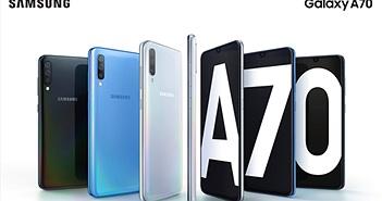 Galaxy A70 ra mắt người dùng Việt giá 9,3 triệu đồng