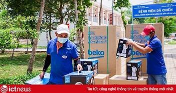 Beko tặng thiết bị điện tử cho Bệnh viện Dã chiến Củ Chi