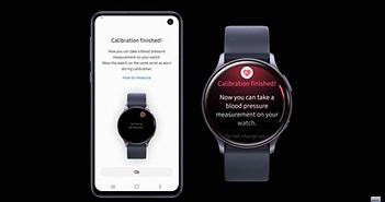 Samsung xác nhận smartwatch đi kèm tính năng đo huyết áp giá trị