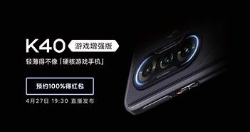 Gaming phone của Redmi lần đầu lộ điểm hiệu năng ấn tượng trên AnTuTu