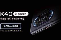 Redmi K40 Gaming Edition được xác nhận chạy Dimensity 1200
