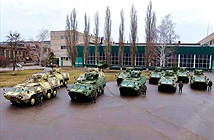 Vệ binh Ukraine được trang bị xe bọc thép BTR-4