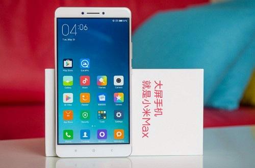 """Xiaomi sắp công bố Mi Max 2 với màn hình lớn, pin """"khủng"""""""