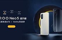 iQOO Neo5 Life bất ngờ xuất hiện trên Geekbench cận kề ngày ra mắt