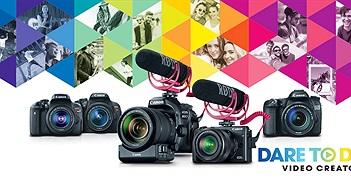 Canon USA ra mắt hai bộ Video Creator Kit mới dành cho EOS 80D và EOS M3