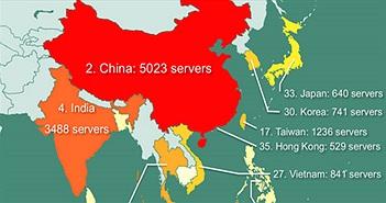 Vụ 841 máy chủ Việt bị rao bán: Còn 153 máy chủ có nguy cơ bị khai thác