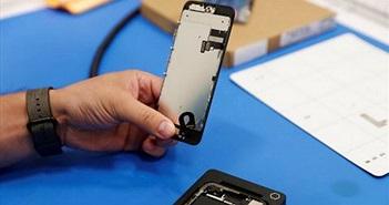 Linh kiện iPhone bị tuồn ra ngoài qua nhà vệ sinh