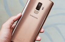 Ngắm Galaxy S9+ bản hoàng kim đổi sắc dưới ánh sáng