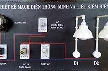Học sinh chế tạo mạch điện thông minh tự động bật tắt đèn theo ánh sáng