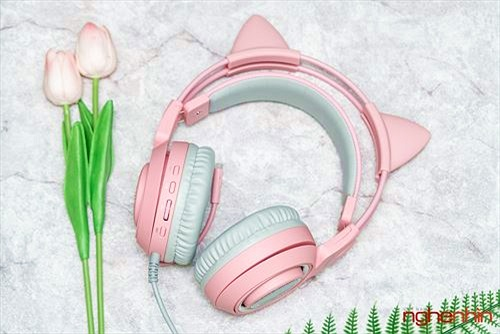 Đánh giá Somic G951 Pink - Tai nghe nghơi chơi game dễ thương nhất Thế giới
