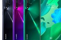 Huawei trình làng dòng Nova 5 với sạc nhanh 40W, giá từ 6,8 triệu đồng